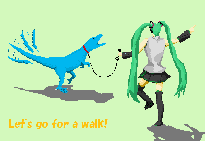 続 Let's go for a walk!