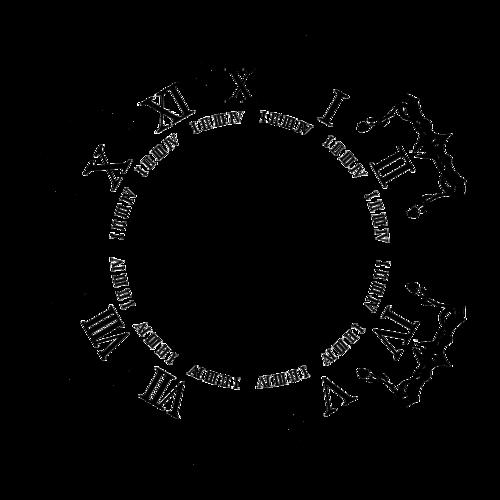 Piaproピアプロイラスト時計2