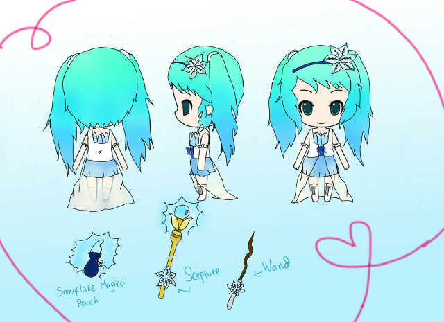 Snow Miku 2014 Design