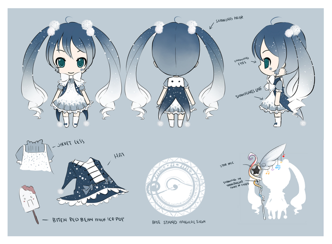 2014 Snow Miku Design