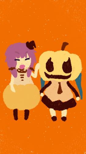 Piaproピアプロイラストかぼちゃおばけ