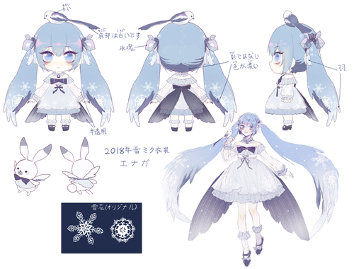 SNOW MIKU 2018(Long-tailed Tit)