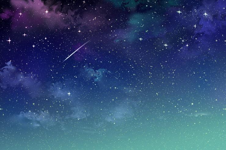 Piaproピアプロイラスト流れ星