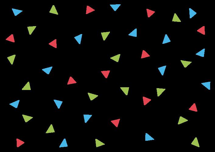 Piaproピアプロイラスト背景素材299三角4