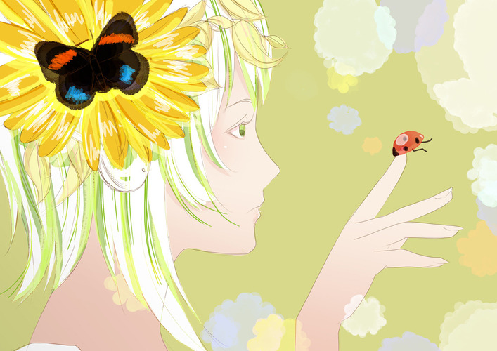 GUMI~and the little bug
