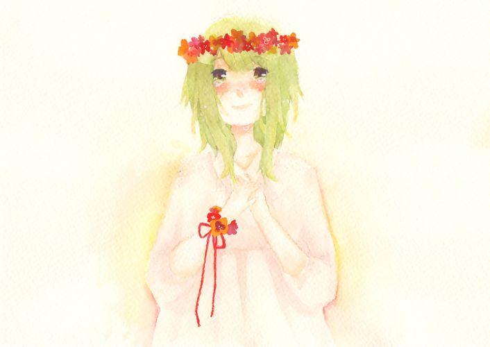 Piaproピアプロイラスト花かんむり