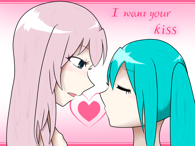 I want your kiss
