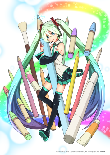 【パソコン】Colorful Miku