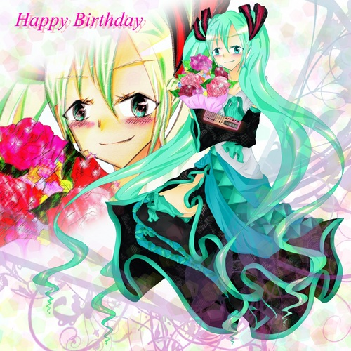 ミクさんHappy Birthday//////