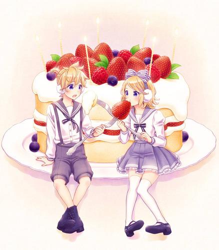 Piaproピアプロイラストバースデーケーキ