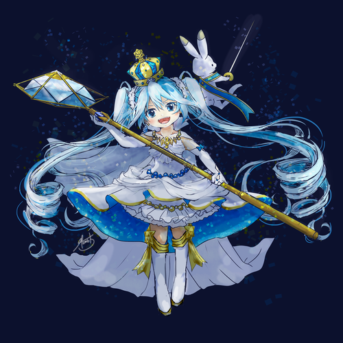Snow Miku 2019 - Brilliant snow-