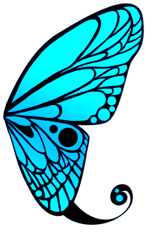 Piaproピアプロイラスト蝶の羽2
