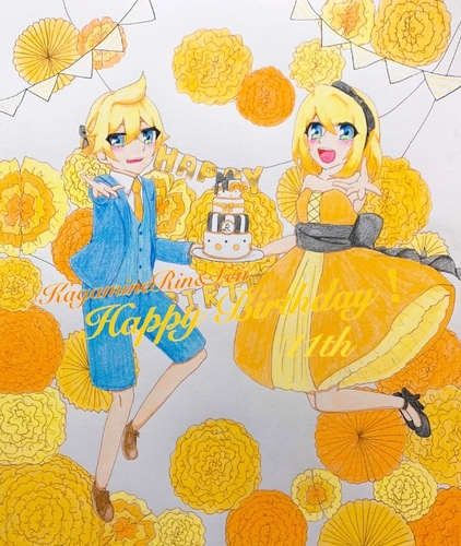 KagameRin&Len HappyBirthday! 11th