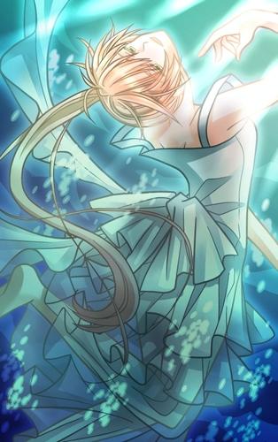 Piaproピアプロイラスト人魚姫歌 イメージイラスト