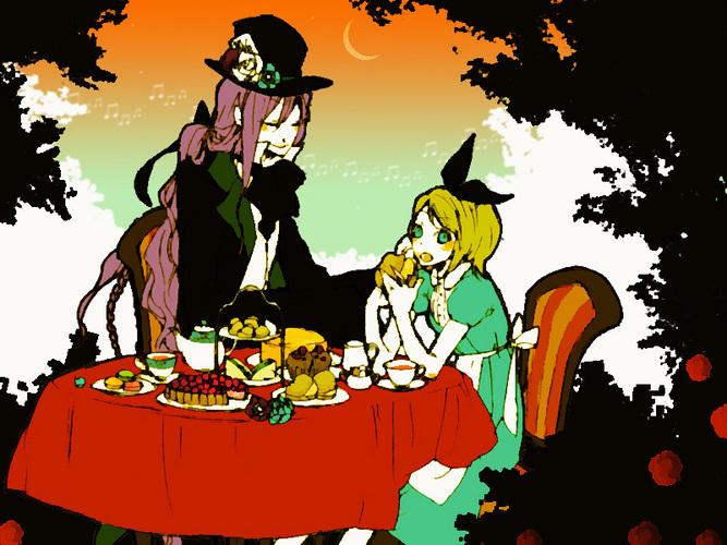 Piapro ピアプロ イラスト 不思議の国のアリス アリスのお茶会
