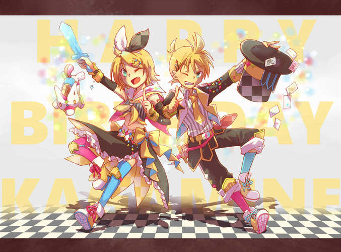 HAPPY BIRTHDAY RIN&LEN !