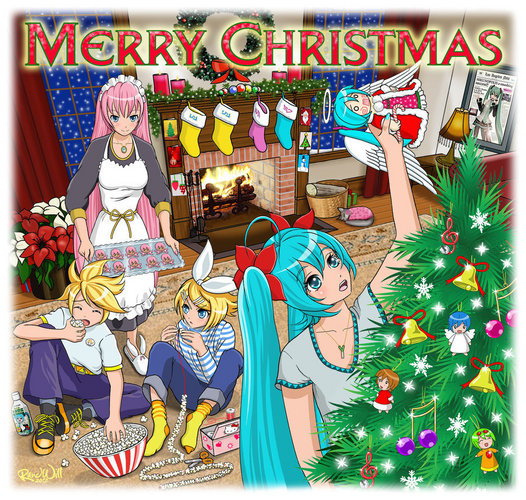 Merry Vocaloid Christmas