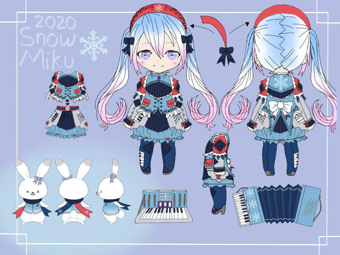Snow Miku 2020 Sparkling Accordion ver.