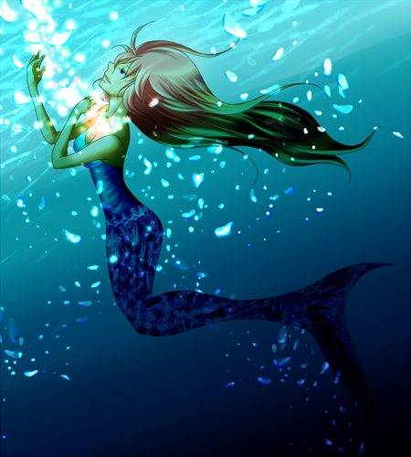 Piapro ピアプロ イラスト 人魚姫
