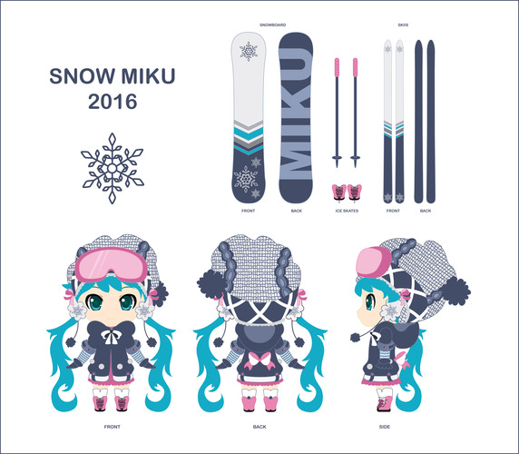Snow Miku Adventurous Snow Pack