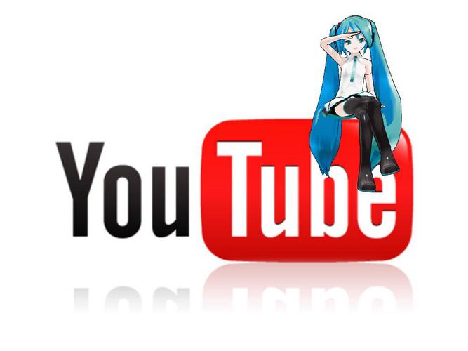Piaproピアプロイラスト Miku With Youtube Mikuyt1 0 Original
