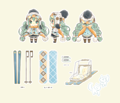 SNOW MIKU 2016 Fancywork