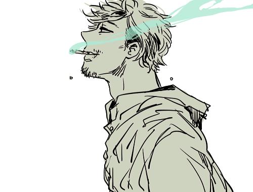 Piaproピアプロイラスト煙