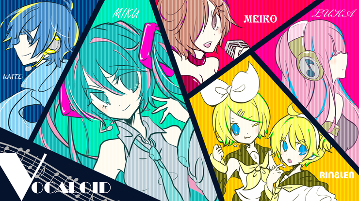 WE ARE VOCALOID! WE LOVE MUSIC!