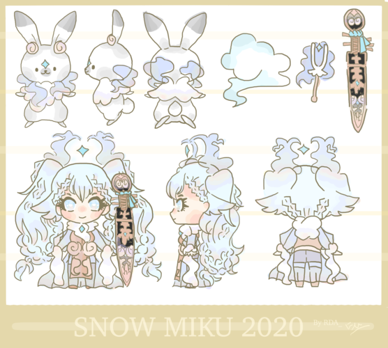 Snow Miku 2020 Entry