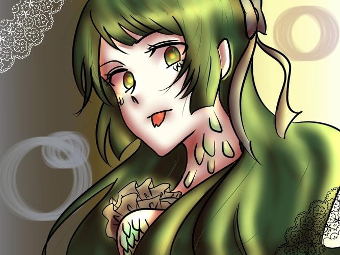 Piaproピアプロイラスト蛇系女子