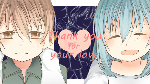 Thank you for your love