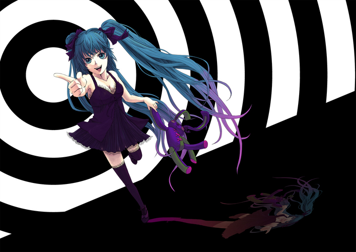 black side miku