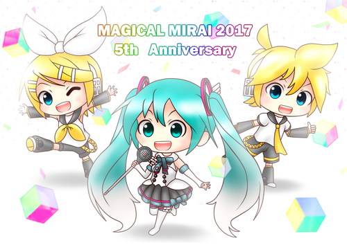 MAGICAL MIRAI 2017 5th Anniversary