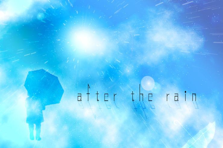 Piapro ピアプロ イラスト After The Rain