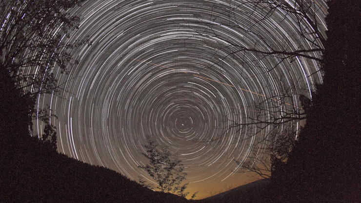 Star Trails 2 北の空