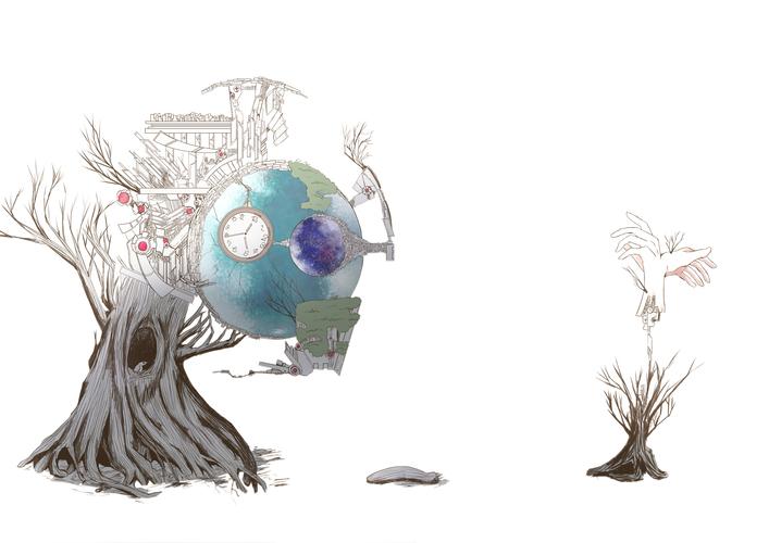 Piaproピアプロイラスト地球系神樹