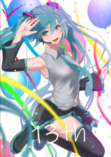 miku 13th birthday