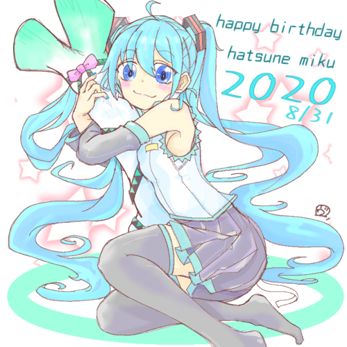 HAPPY BIRTHDAY 初音ミク!