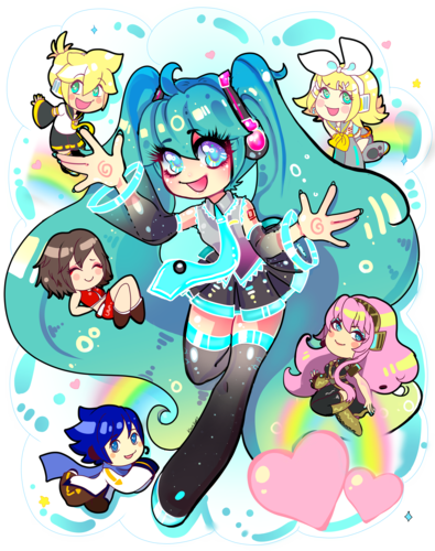 Miku and Friends
