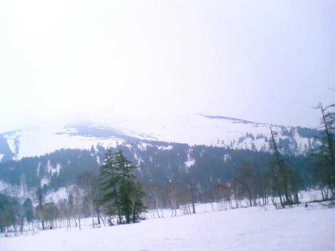 Piaproピアプロイラスト雪山写真素材改変可