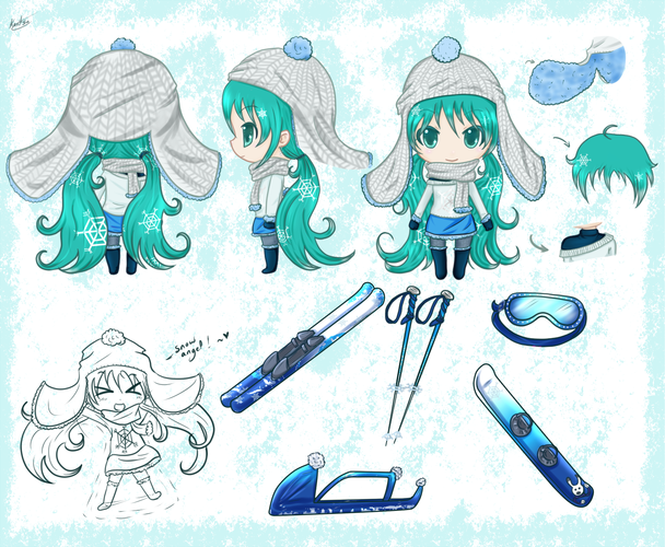 Snow Miku 2016 contest participation