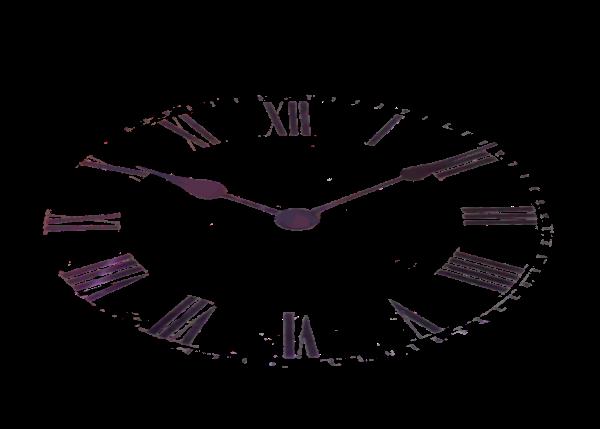 Piaproピアプロイラスト素材時計板斜め透過